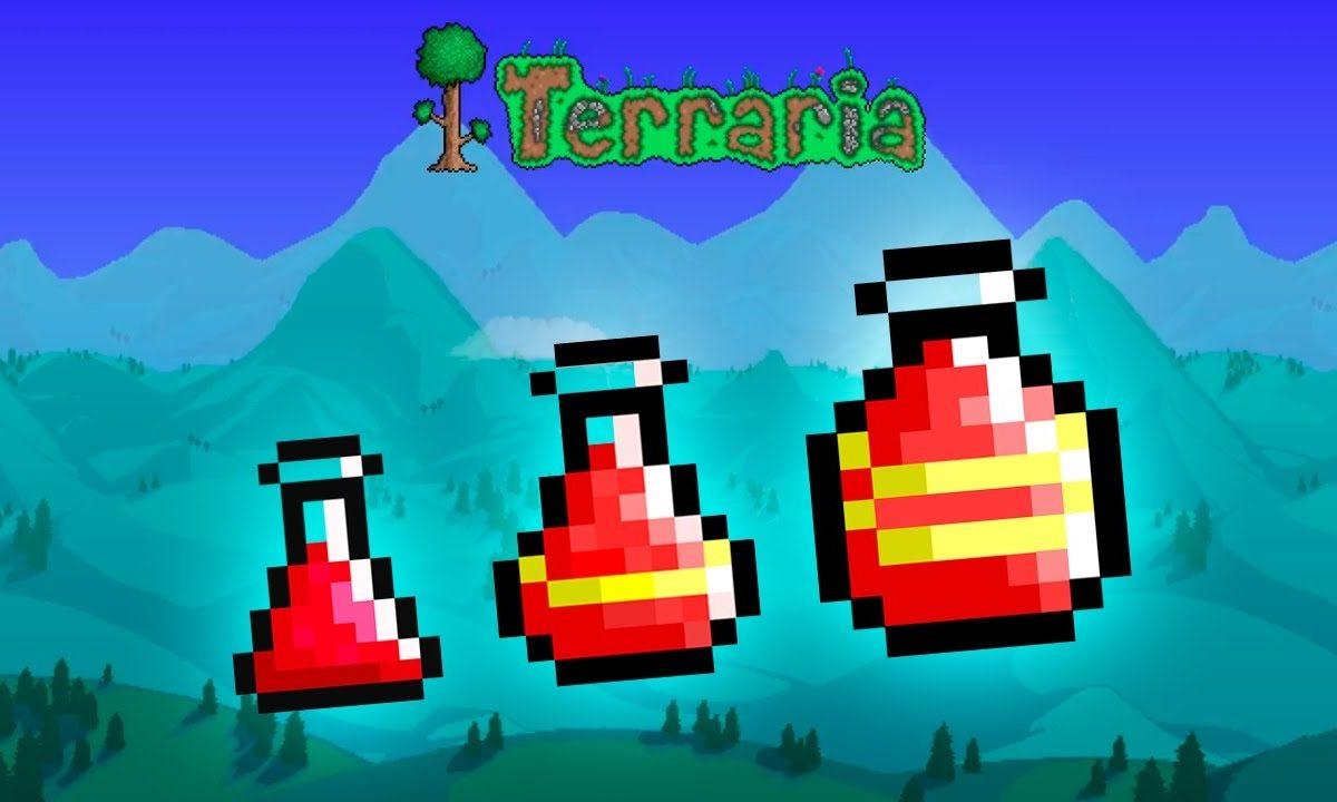 terraria greater healing potion