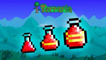 Terraria Healing Potion
