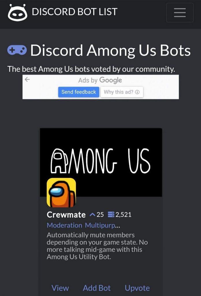 Among Us Bot Discord