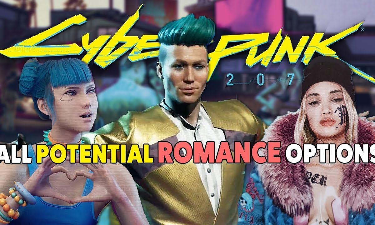 Cyberpunk 2077 All Romance Options
