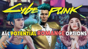 Cyberpunk 2077 All Romance Options