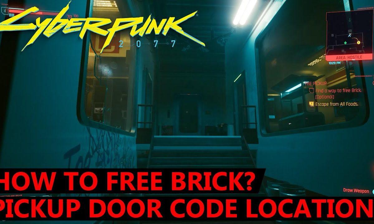 How to Free Brick in Cyberpunk 2077?