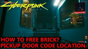 How to Free Brick in Cyberpunk 2077?