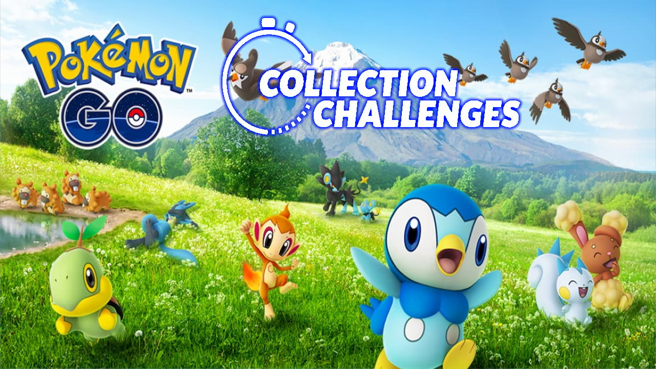 Pokemon GO Sinnoh Collection Challenge Guide