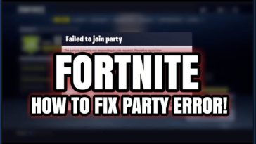 Fortnite Error Code 86
