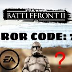 Star Wars Battlefront 2 Error Code 721