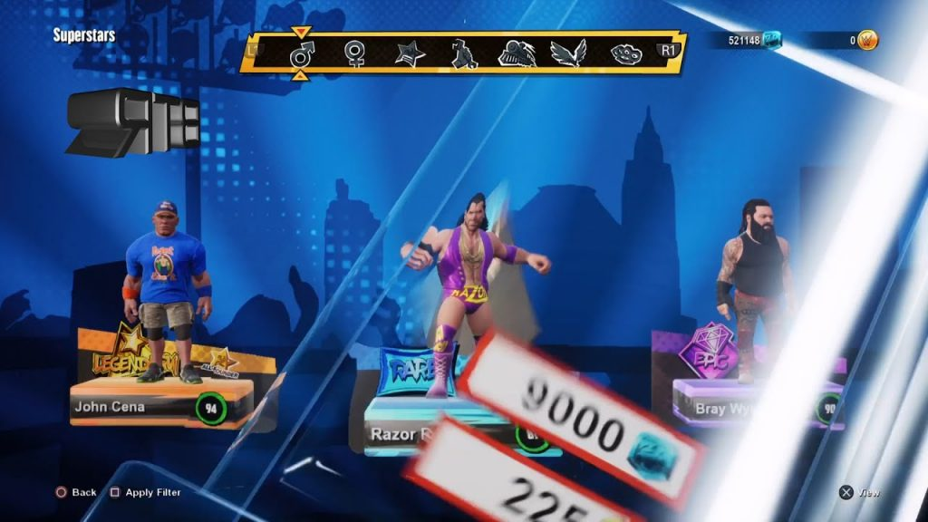 how to unlock Razor Ramon and Diesel in WWE 2K Battleground