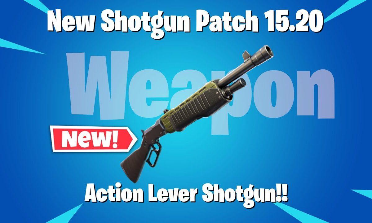 Fortnite Lever Action Shotgun