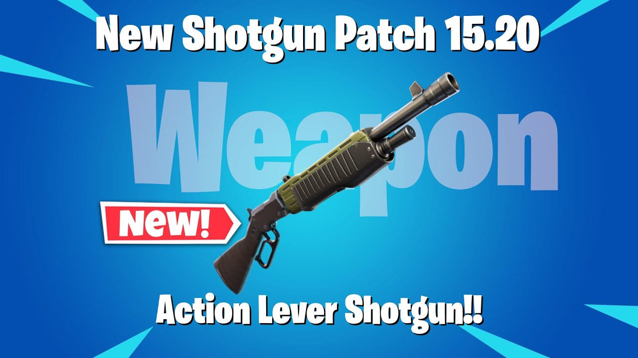 Fortnite Lever Action Shotgun