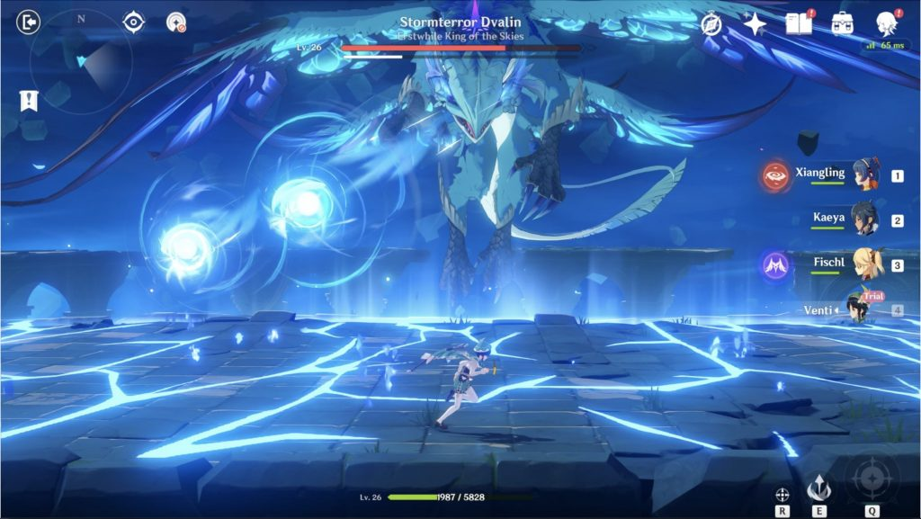 Genshin Impact Stormterror