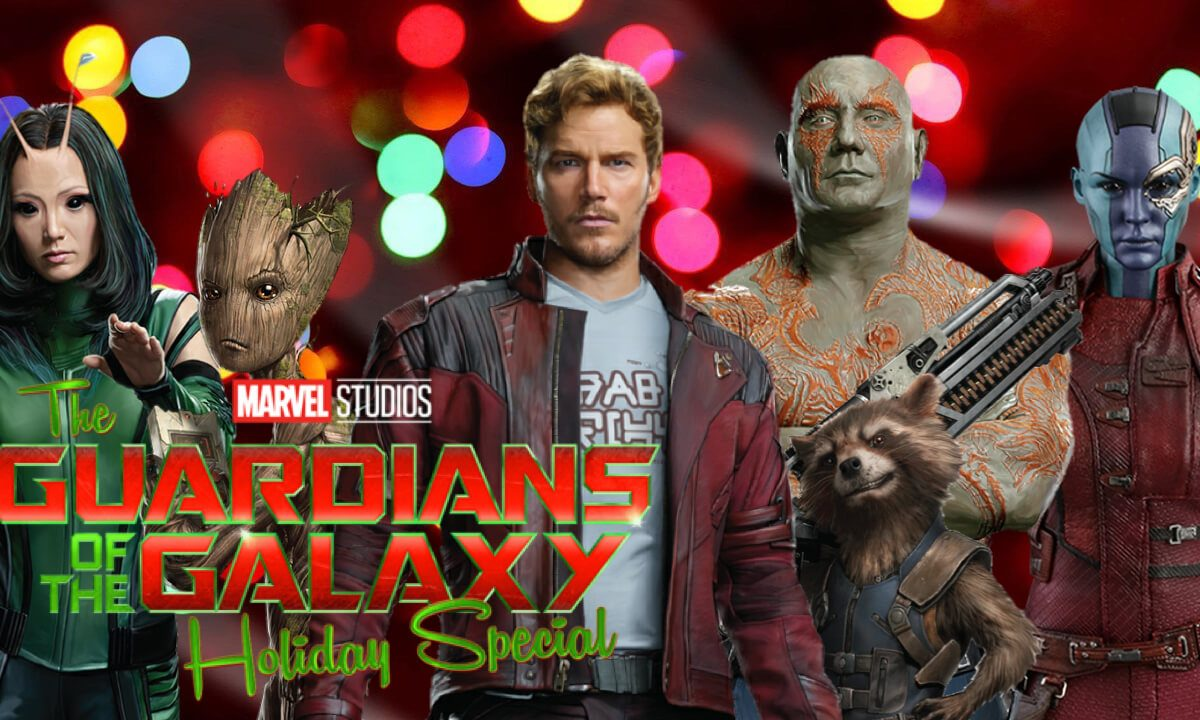 Guardians of galaxy Holiday special volume 3