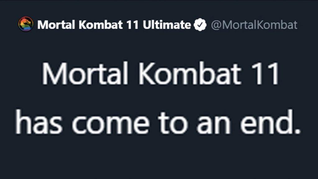 Mortal Kombat 11 Support Ends