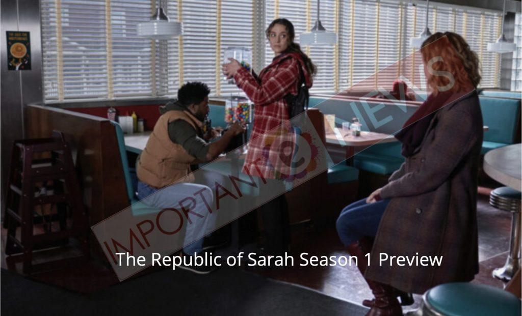 The Republic of Sarah Season 1