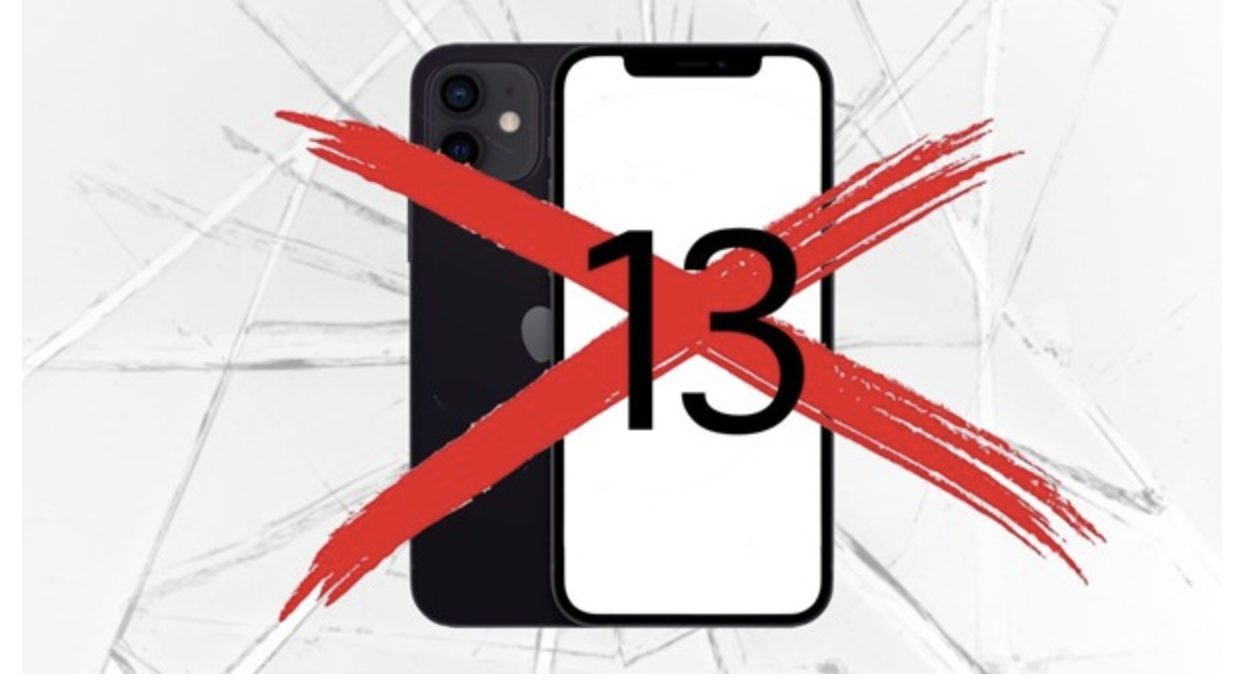 Apple May Skip Number 13 in Naming the Next iPhone for a Strange Reason